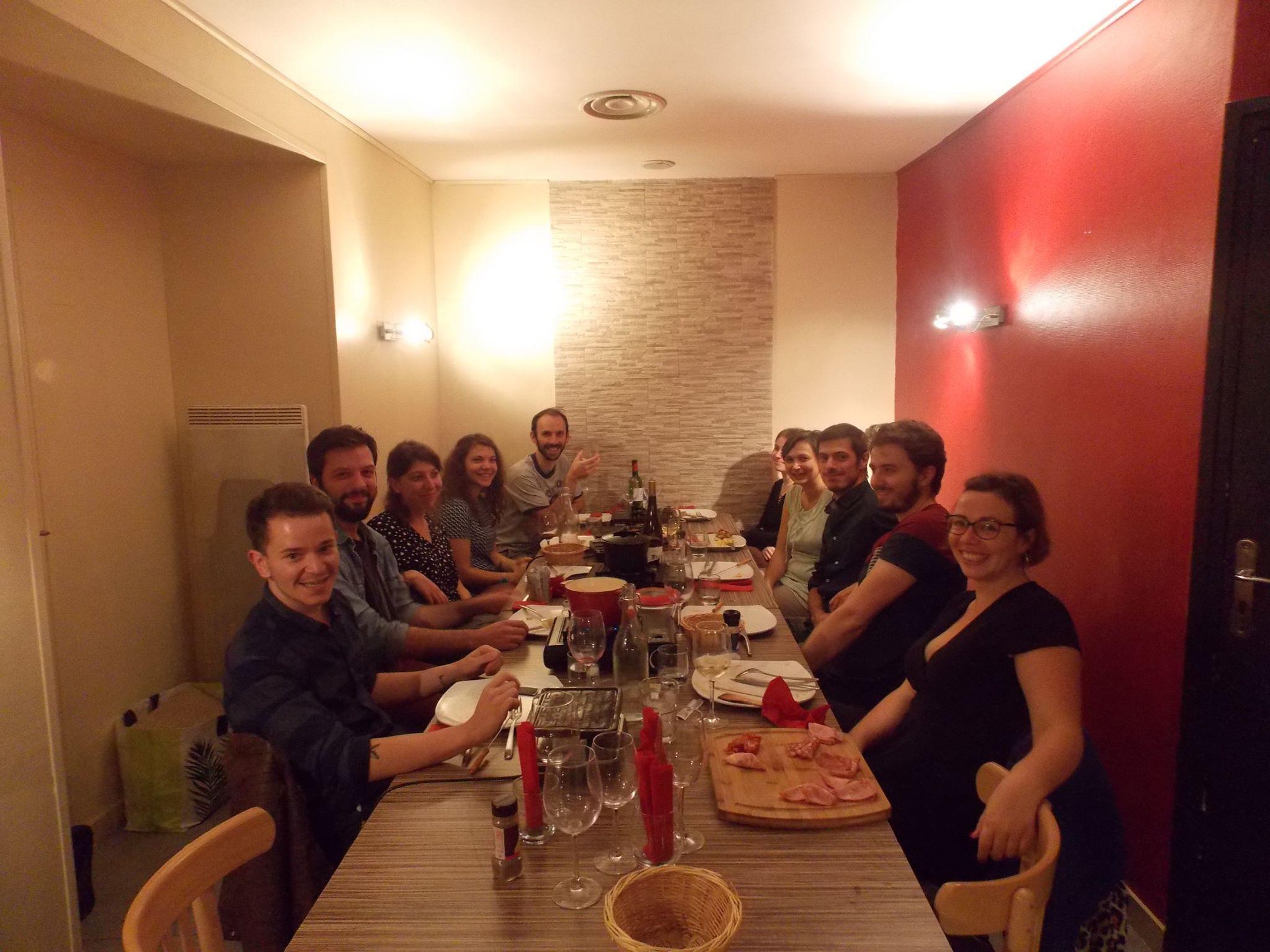 anniversaires à  La Plancha à Angoulême